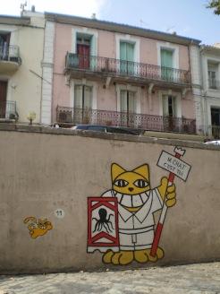 © mme S. - géant chat à Sète ***M.CHAT C'EST TOI***