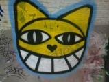sourire de chat perché