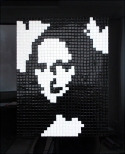 binary_mona Joconde Invader