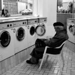 à la laverie