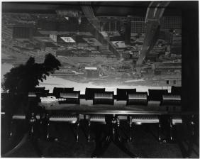 © Abelardo Morell - Camera Obscura Image of Boston View, Looking South East in Conference Room, 1998 _ choisie par H.