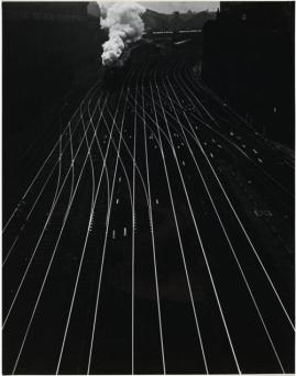 © ergy Landau - Gare Saint Lazare 1934 _ choisie par H.