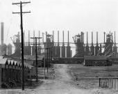 © walker evans - Birmingham steel mill and worker's houses 1936 _ choisie par H.